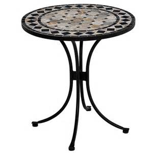 home styles mosaic outdoor bistro table patio dining