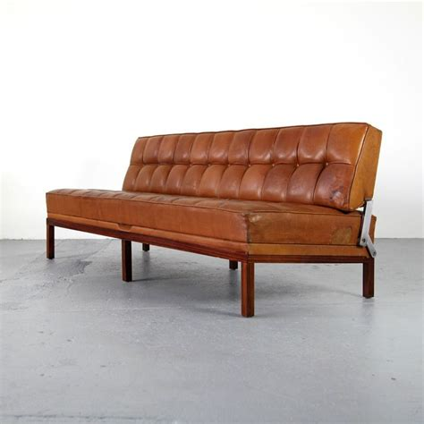 daybed as sofa leather daybed sofa 88 off conrad orange leather daybed