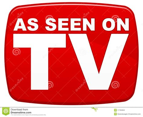 As Seen On Tv by As Seen On Tv Stock Images Image 17784664