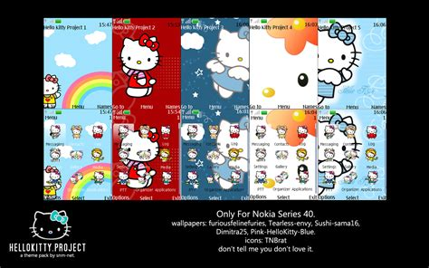 themes nokia hello kitty hello kitty project theme pack by snm net on deviantart
