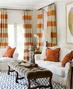 Orange And White Curtains Orange And White Curtains Best Curtains Design 2016