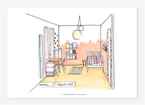 dessin chambre d enfant dessin chambre garcon avec fresque murale dans la chambre