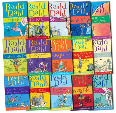 his of books roald dahl books