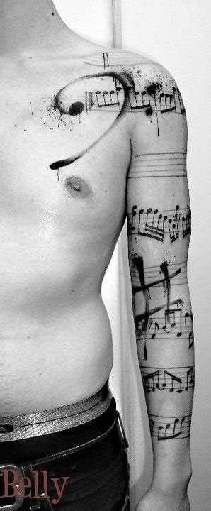 tattoo arm music 40 cool sleeve tattoos for men