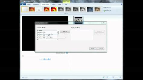 windows movie maker clone effect tutorial adding fade in fade out effects in windows live movie