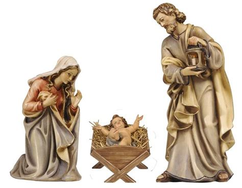 lade di cartapesta kostner nativity holy family figurines infant