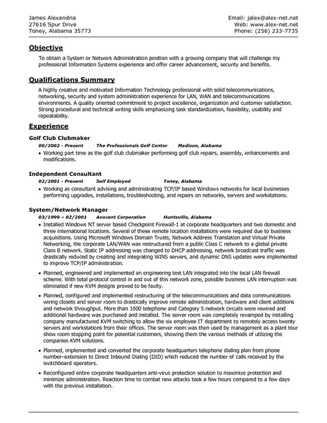 sle database administrator resume 28 images dba
