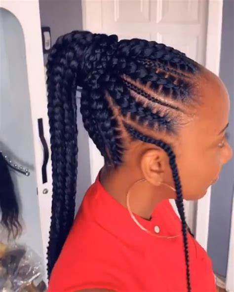 cornrows ponytail hairstyles video   cornrow