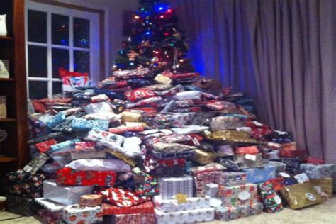 a u k mom called disgusting because of how many presents