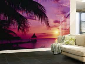 Ideal Decor Wall Murals Purple Living Room Wall Murals Purple Ocean Wallpaper