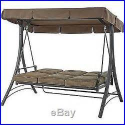 patio swing converts to bed outdoor porch swing patio furniture canopy steel hammock