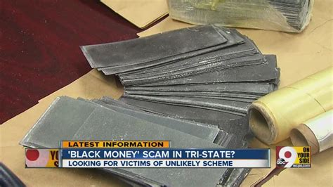 the black dollar black money scam in the tri state