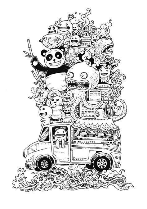 doodle 9 in 1 doodle doodling 9 doodling doodle coloring