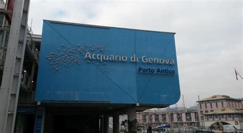 quanto costa l ingresso all acquario di genova tutti all acquario di genova