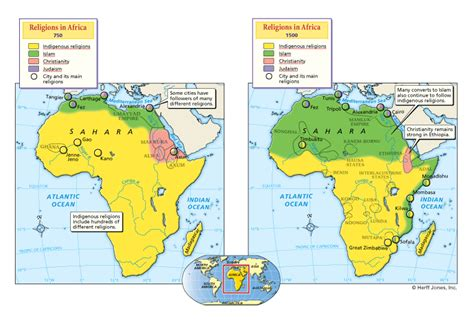 africa map 1500 religions in africa 750 1500