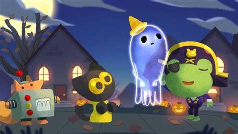 imagenes google halloween halloween el doodle de google en halloween 171 jinx s night