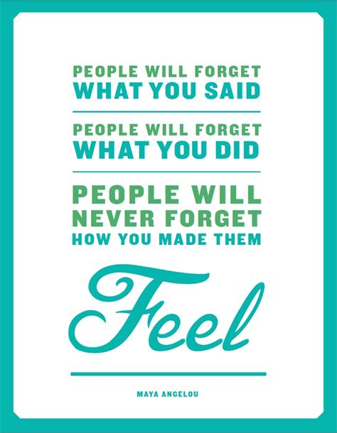 printable respect quotes quot people will forget what you said people will forget what
