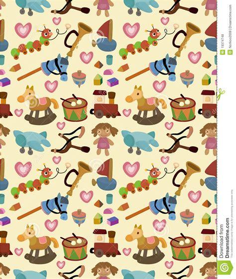 pattern drawing toy cartoon kid toy seamless pattern royalty free stock photos