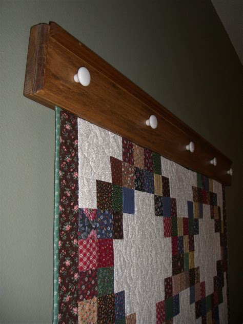 pattern for wall quilt hanger reserved for trish wall hanging quilt hanger 85inches solid