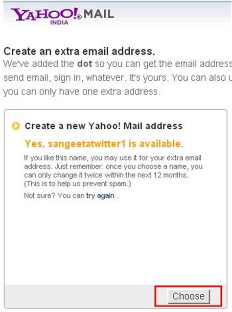 yahoo email alias how to create multiple twitter accounts with same email