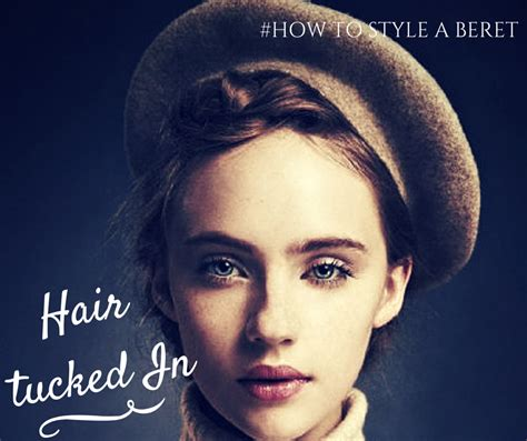 how to wear a beret with bangs 5 ways to style a beret style inked