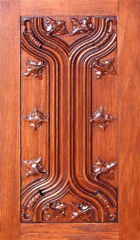 Carved Cabinet Doors Carved Panel Cabinet Door By Masterpiece Furniture Creations