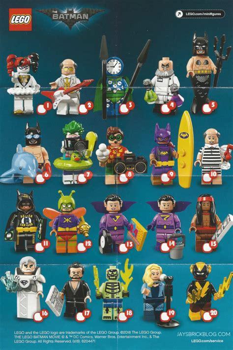 Blind Side Full Movie Review Lego Batman Movie Minifigures Series 2