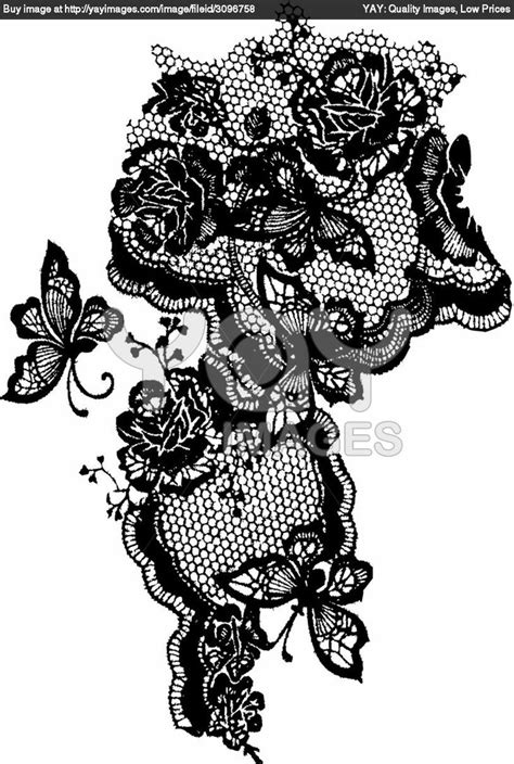 victorian lace tattoo 15 best lace images on