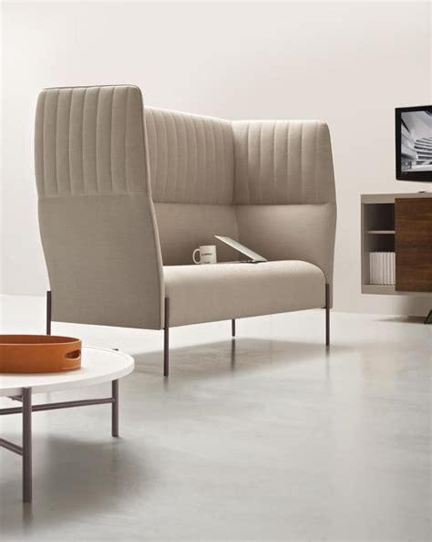 divani schienale alto divano con schienale alto per privacy acustica idfdesign