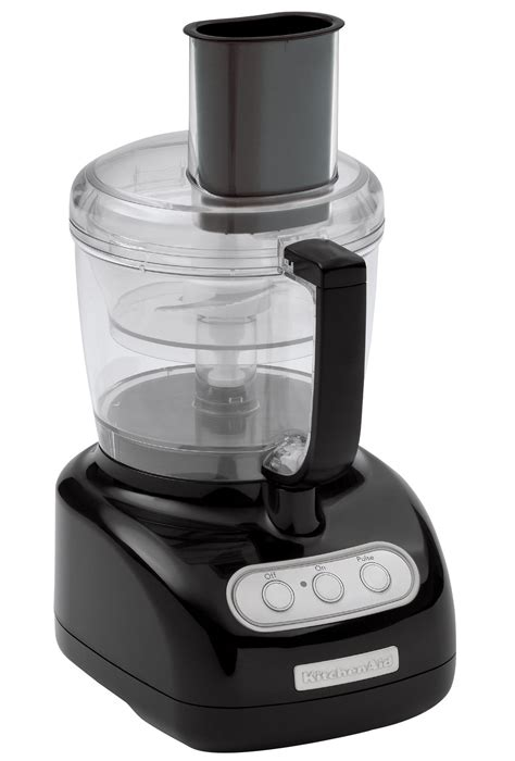 Kitchenaid Food Processor Blades How To Use Kitchenaid 7 Cup Food Processor Black Appliances