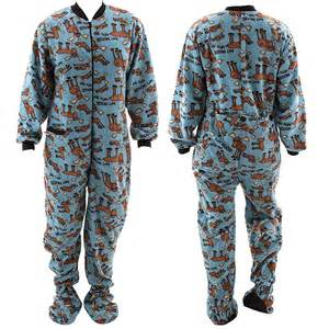 Lazy one don t moose with me blue footed pajamas for adults
