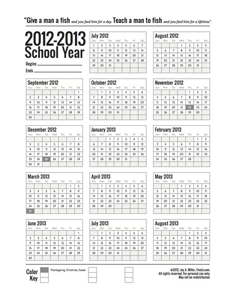 printable yearly school calendar a customizable printable school year calendar we are