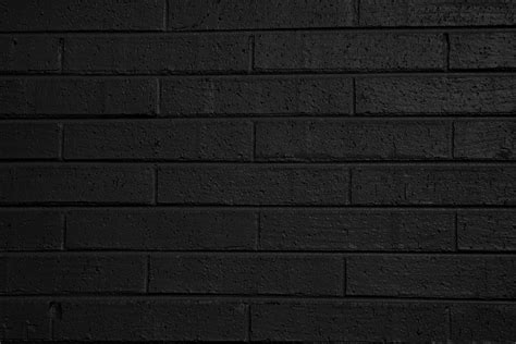 black brick wall black painted brick wall texture picture free photograph photos public domain
