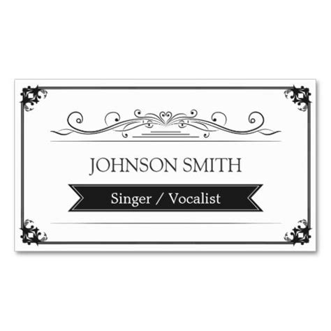business card frame template 281 best images about singer business cards on