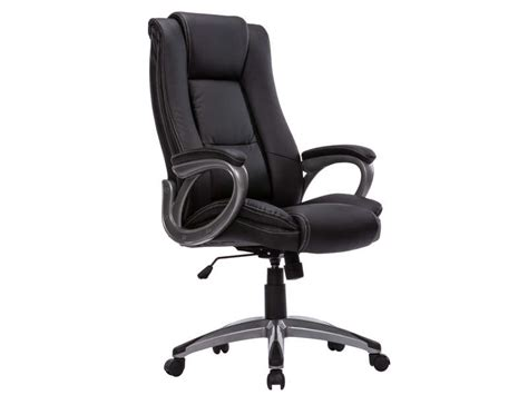 fauteuil de bureau coach coloris noir vente de fauteuil