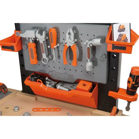 black and decker toy work bench smoby black and decker the ultimate workbench ebay