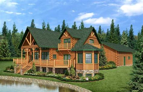 loh roof black mountain country s best log home plan by golden eagle log homes