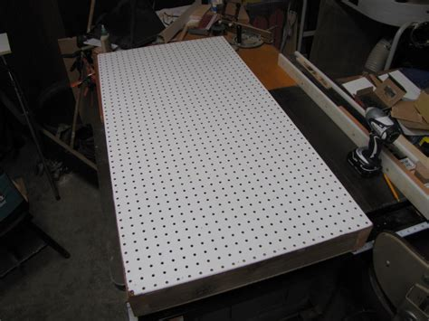 sanding table  dust collection  studie