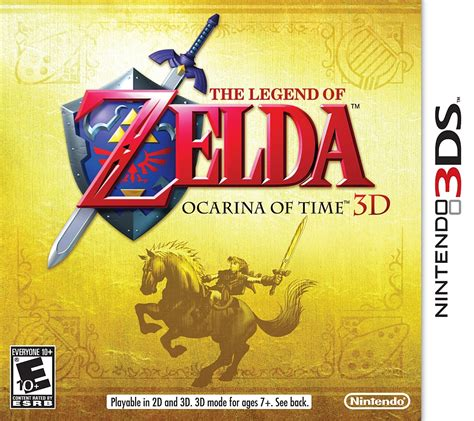 Kaset 3ds The Legend Of Ocarina Of Time 3d the legend of ocarina of time 3d nintendo 3ds ign