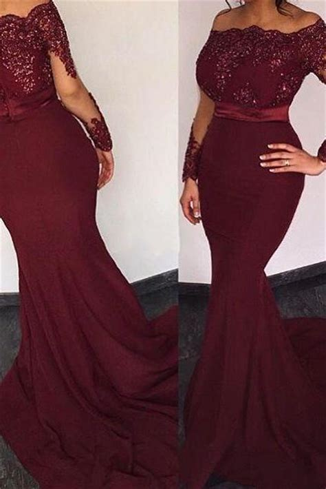 Ghaida Simple Choker Dress Maroon charming prom dress chiffon prom dress o neck prom dress