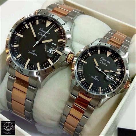 jual jam tangan couple original alexandre christie ac
