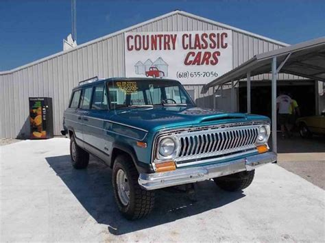 classic jeep wagoneer for sale 1976 jeep wagoneer for sale classiccars com cc 938832