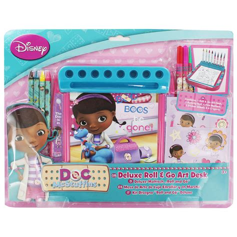 doc mcstuffins roll and go desk craft activities for