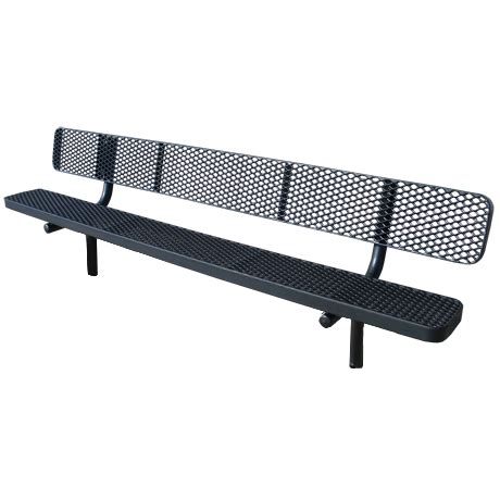 metal sports bench thermoplastic plastisol coated metal benches for parks