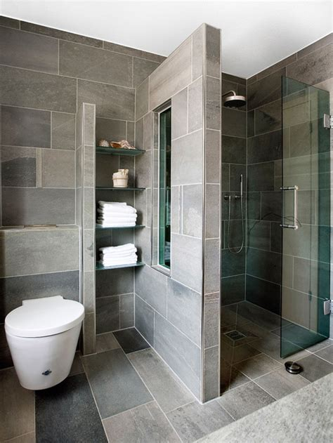 contemporary bathroom design ideas remodels amp photos bold small houzz with walk showers tile