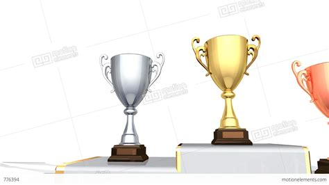 Prize Money For Winning Fa Cup - podium prize trophy cup fa2w hd stock animation 776394