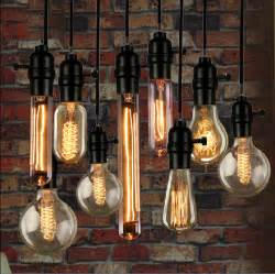 Chandelier Bulbs Led Vintage Loft Retro Diy E27 Spiral Incandescent Light