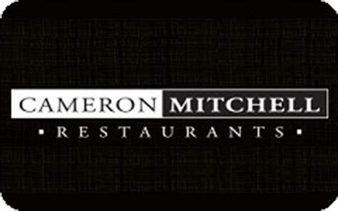 Cameron Mitchell Gift Cards - buy cameron mitchell restaurants gift cards at a 8 discount giftcardplace