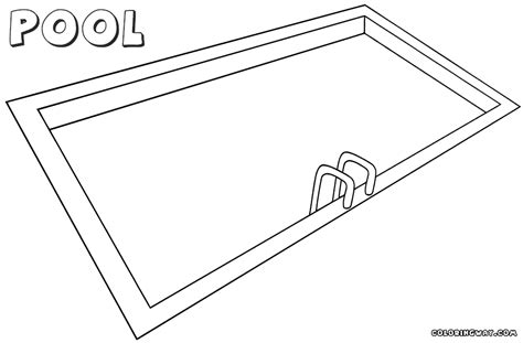 pool coloring pages coloring pages to download and print