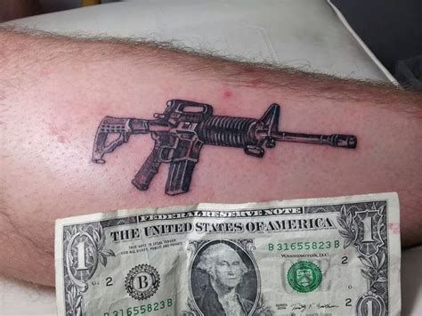 arkansas tattoo mini ar 15 tattoos i done mini